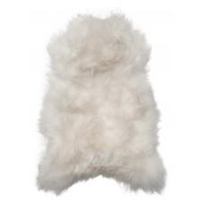IJslander schapenvacht wit/langharig
